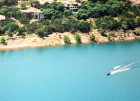 Lake Buchanan In Central Texas