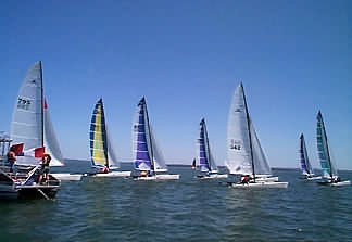 regatta on Lake Buchanan