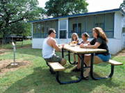 Beachcomber RV Park and Rental Cabins on Lake Buchanan